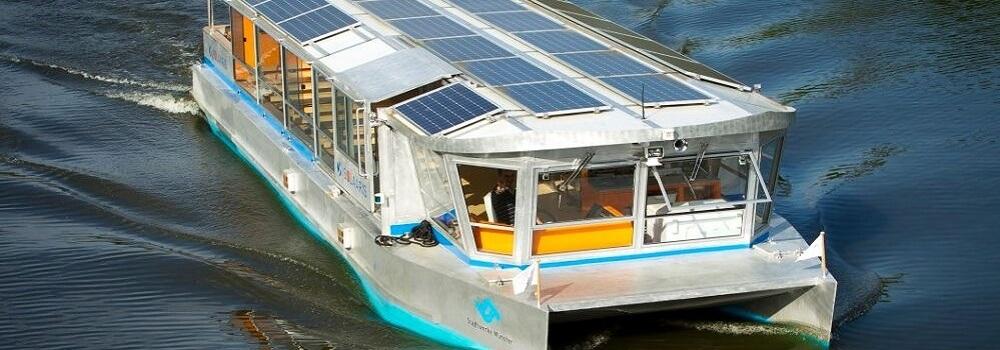sun powered boats