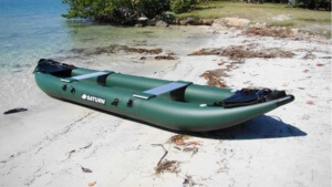 FK396 Inflatable fishing boat