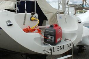 best size boat generator