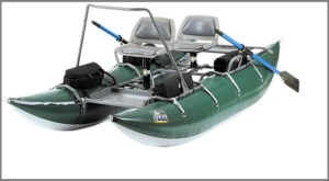 Inflatable Tioga boat
