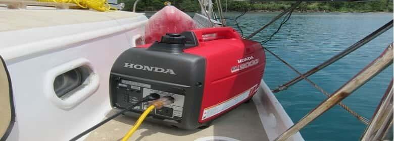 marine boat generator
