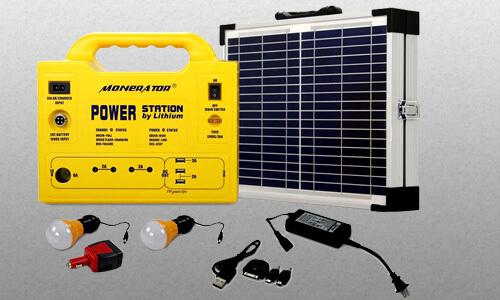 Monerator Gusto 20 Portable Solar Generator